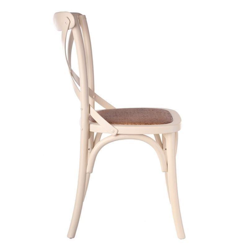 Sillas en blanco silla lua blanco pack sillas polipiel for Asientos para sillas